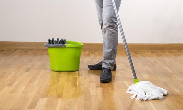Magic Eraser Mop on your Floor